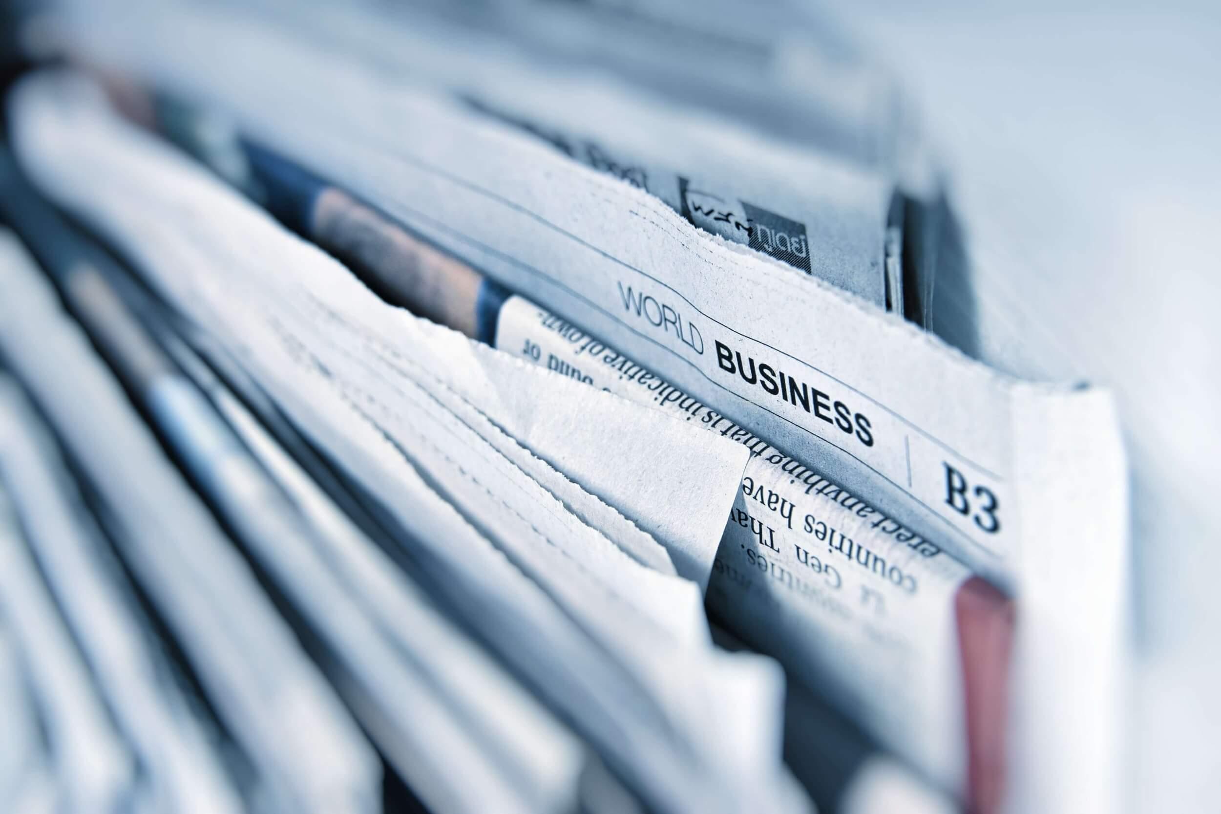 Gazety opisujące kwestie gospodarcze, między innymi wprowadzenie prostej spółki akcyjnej